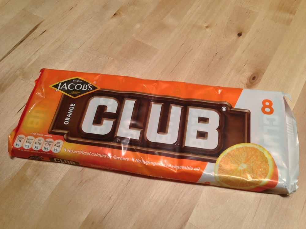 Orange Club Biscuits