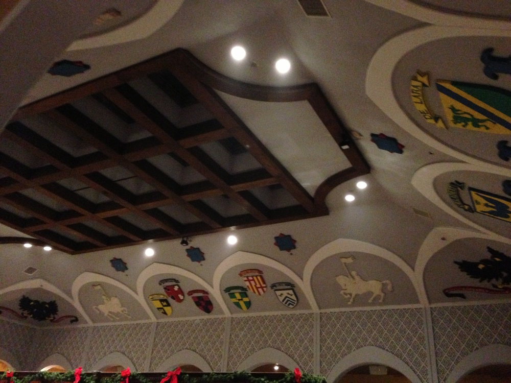 Cool ceiling,