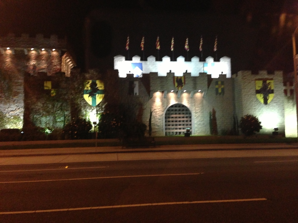 The Buena Park Castle.