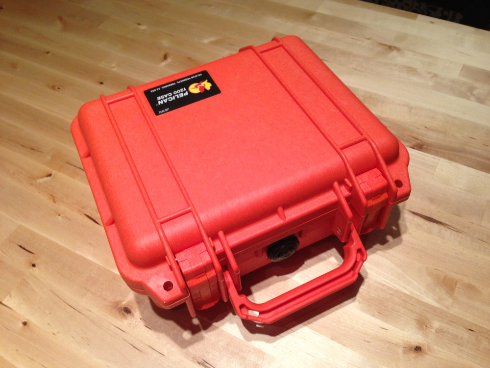 Pelican case- Packed for Adventure!