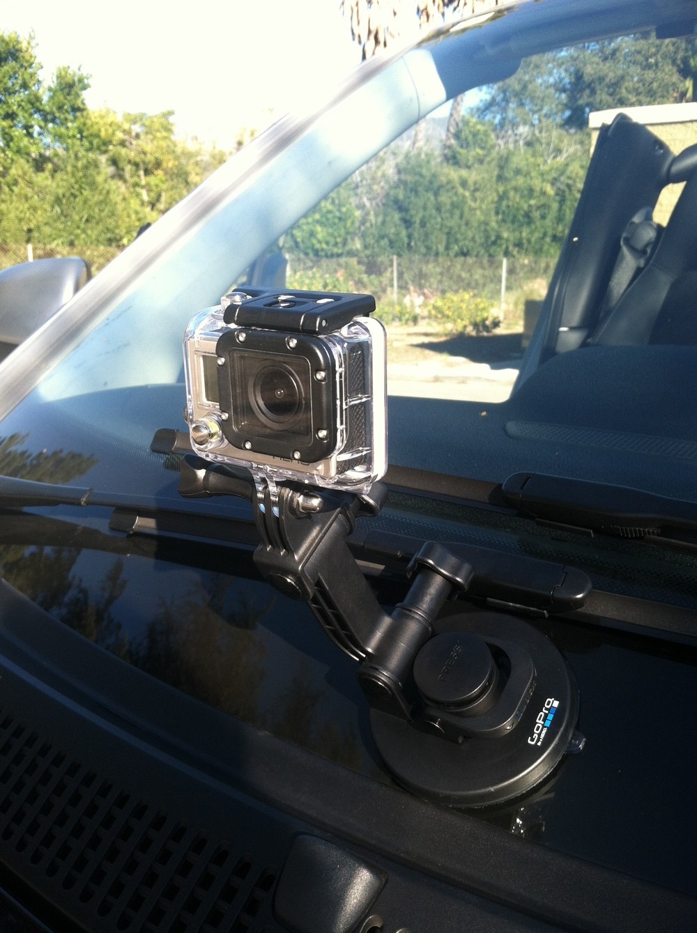 And finally, the GoPro is added.