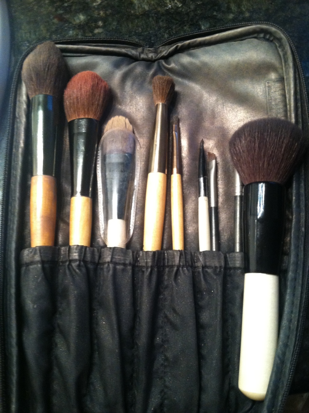 My Bobbi Brown Brush collection.