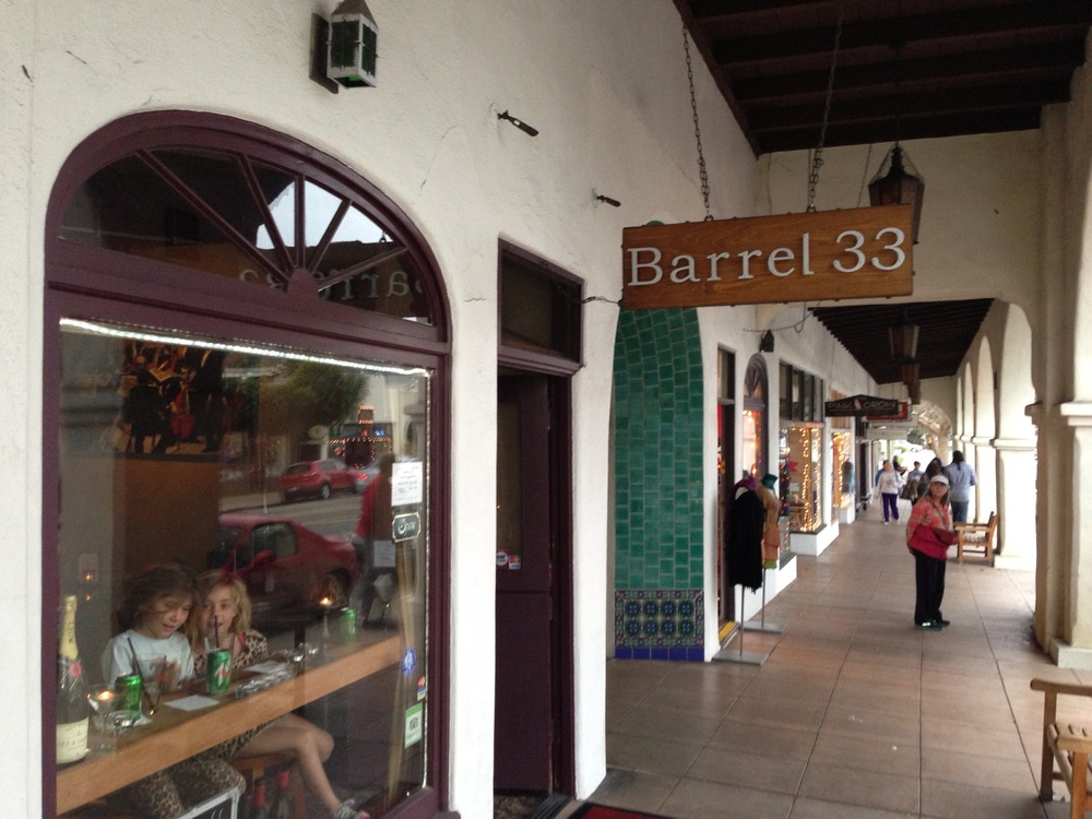 Barrel 33. Yes, it's a bar and yes, there are kids sipping soda on the window bar stools.