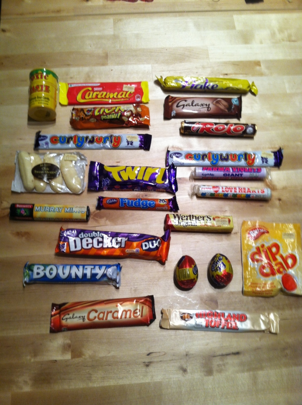 Lot's of treats from the UK!