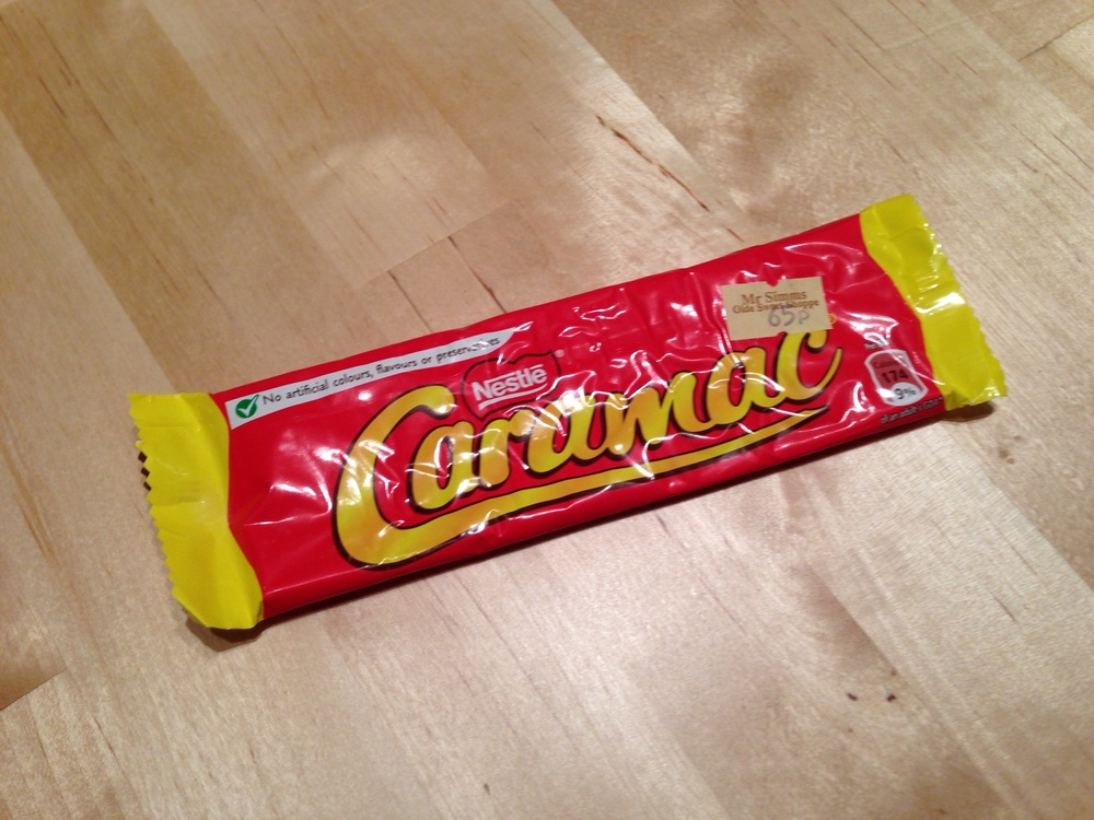 Caramac Packaging.