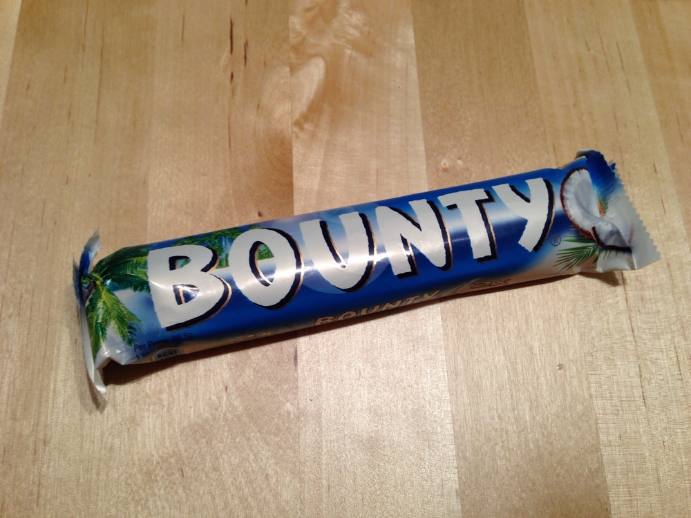 Bounty packaging.
