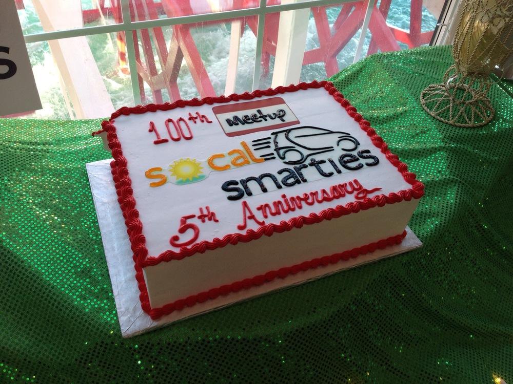 The Cake- super yummy!