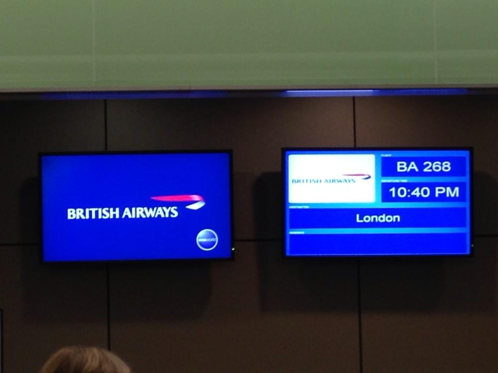 Next stop, England!