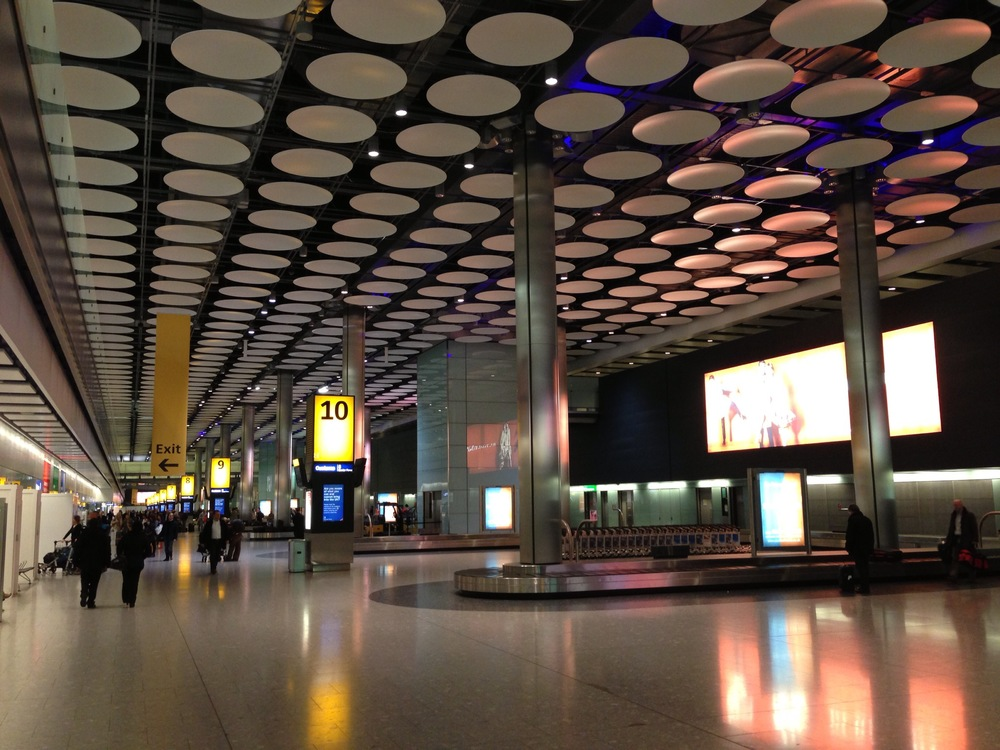 Heathrow Baggage Claim