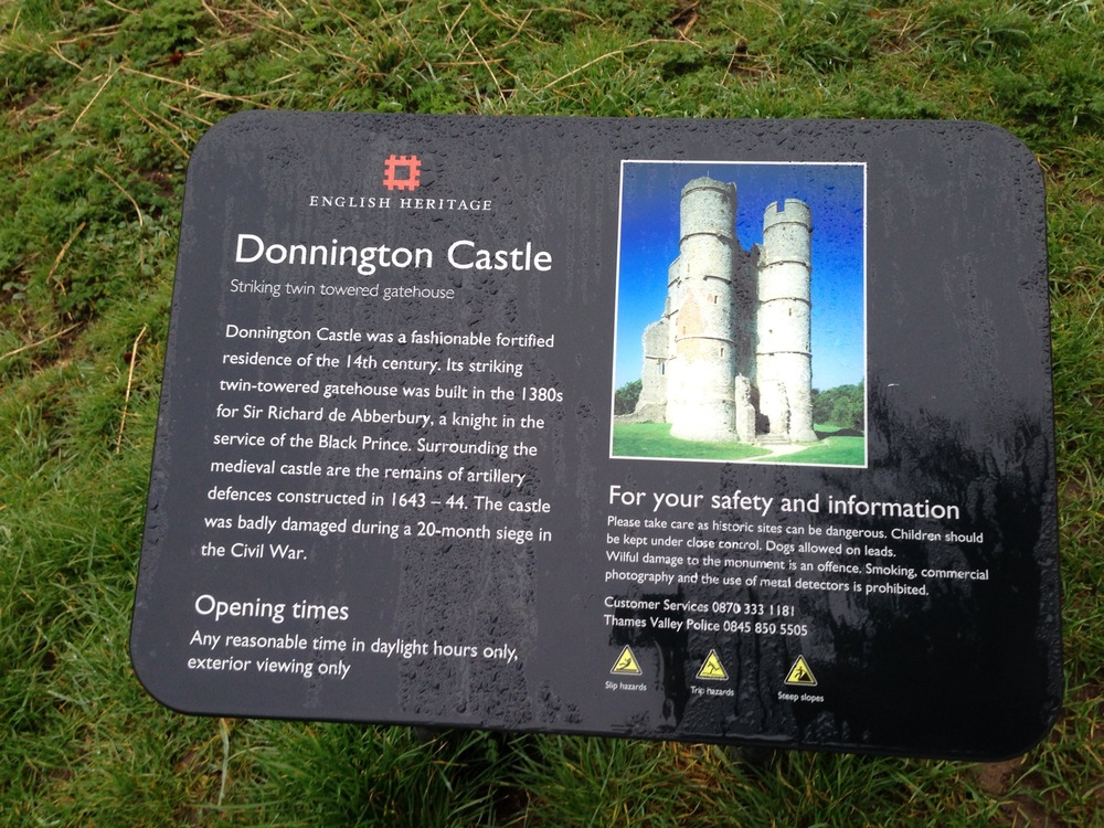 Donnington Castle Info