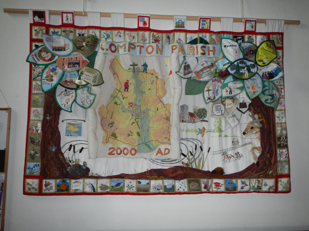Parish of St. Mary and St. Nicholas Quilt.