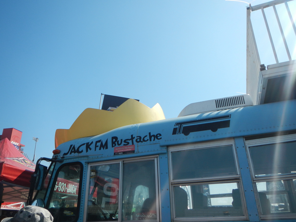 The Jack FM bustache