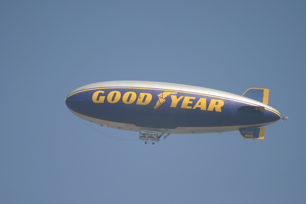 What would a sporting event be without the Goodyear Blimp?