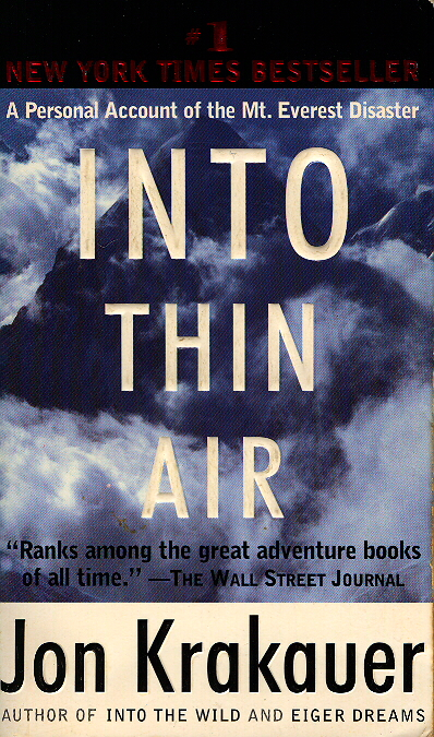 Into thin air book review new york times