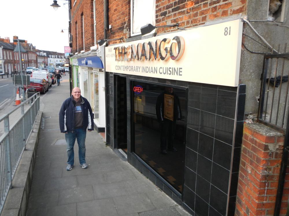 Dan at The Mango