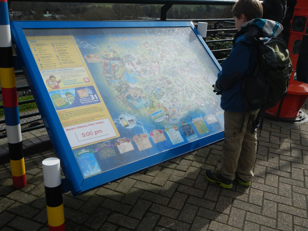 Legoland Windsor Park Map