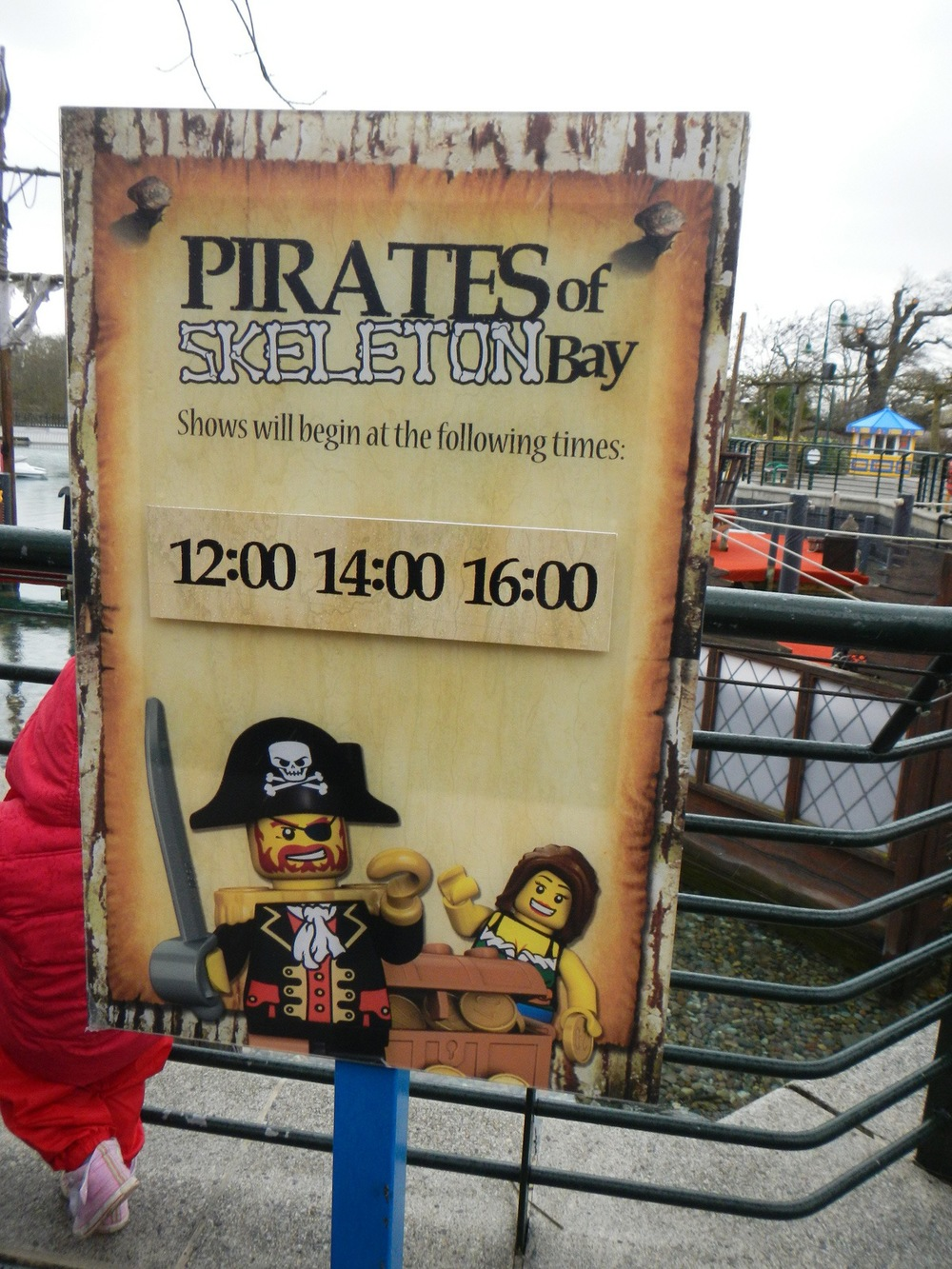 The first Pirate show of Legoland Windsor's 2013 season!