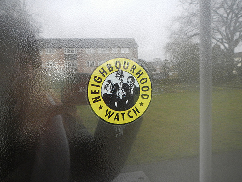 Neighborhood (neighborhood) Watch Sticker