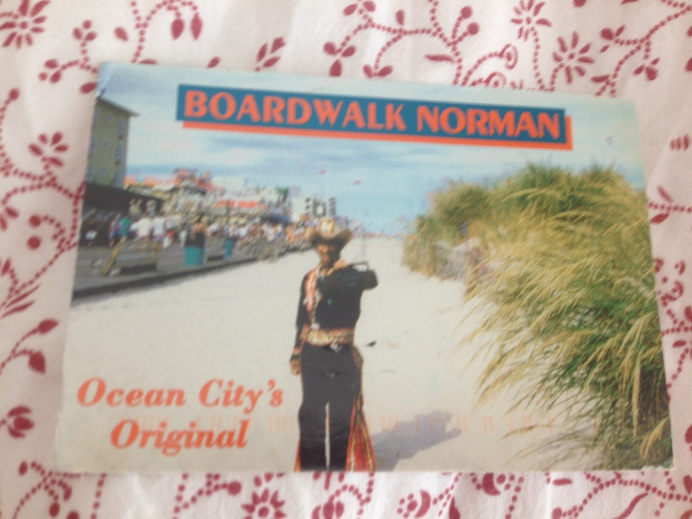 One from my friend John, love this because of the Boardwalk Norman character.