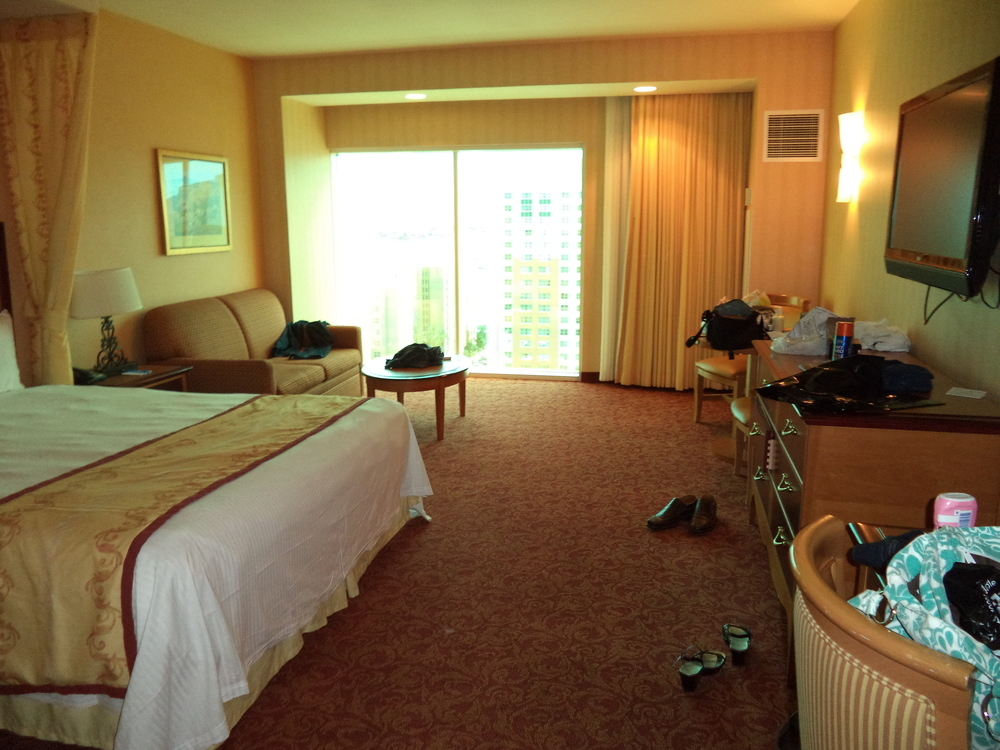 A second view of our room