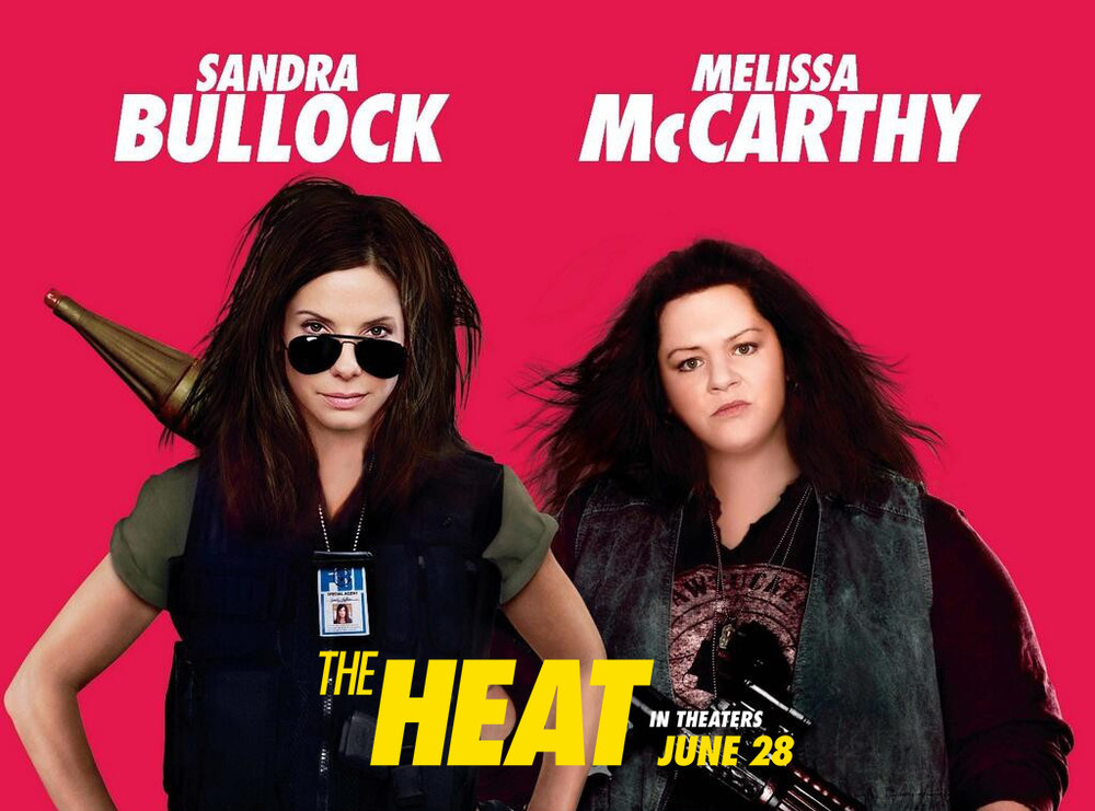 Movie Review- The Heat — Always Packed for Adventure!