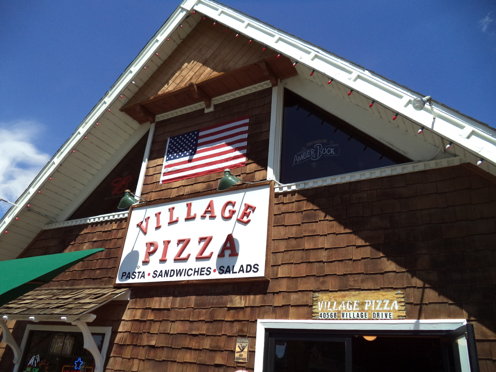 Village Pizza, Big Bear Lake