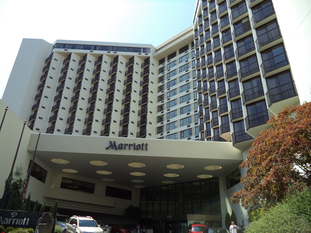 Home for the weekend- Marriott Downtown Waterfront