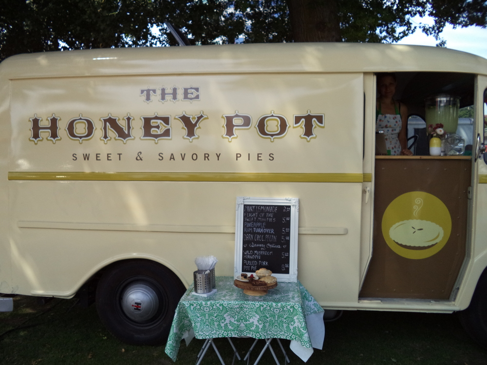 The Honey Pot truck just makes me smile.