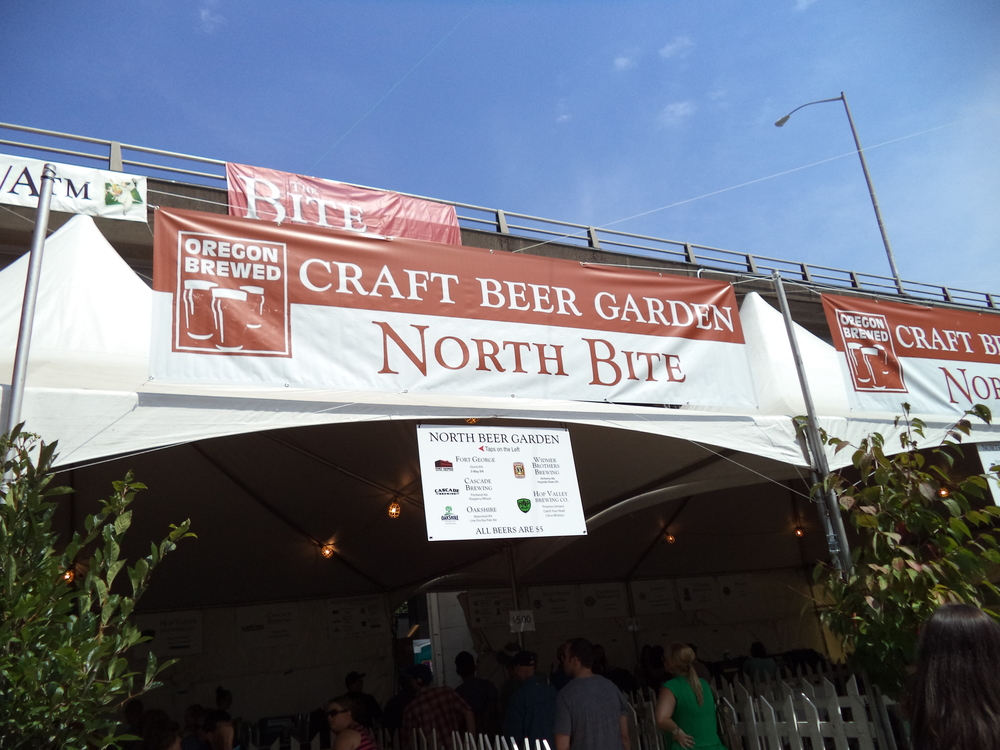 The Beer Tent (the most popular place at any event)