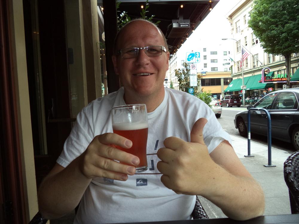 Dan at Ringler's Annex Bar