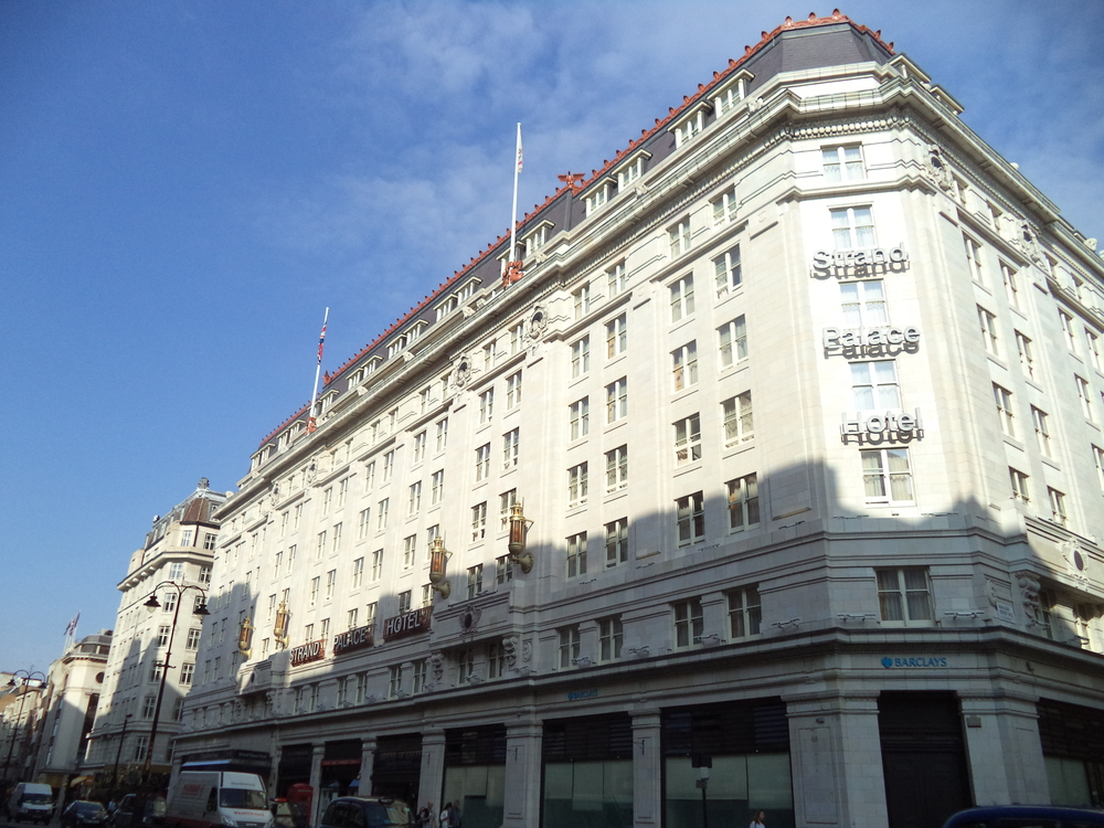 UK August-October 2013- Strand Palace Hotel — Always Packed for Adventure!