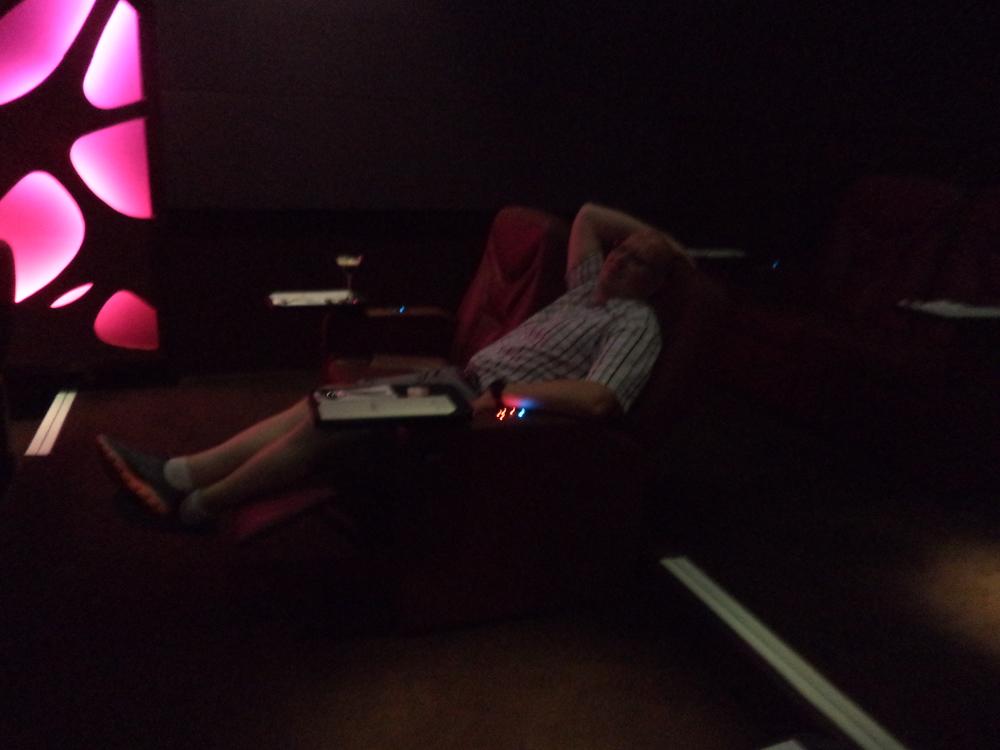 Dan in the theater.