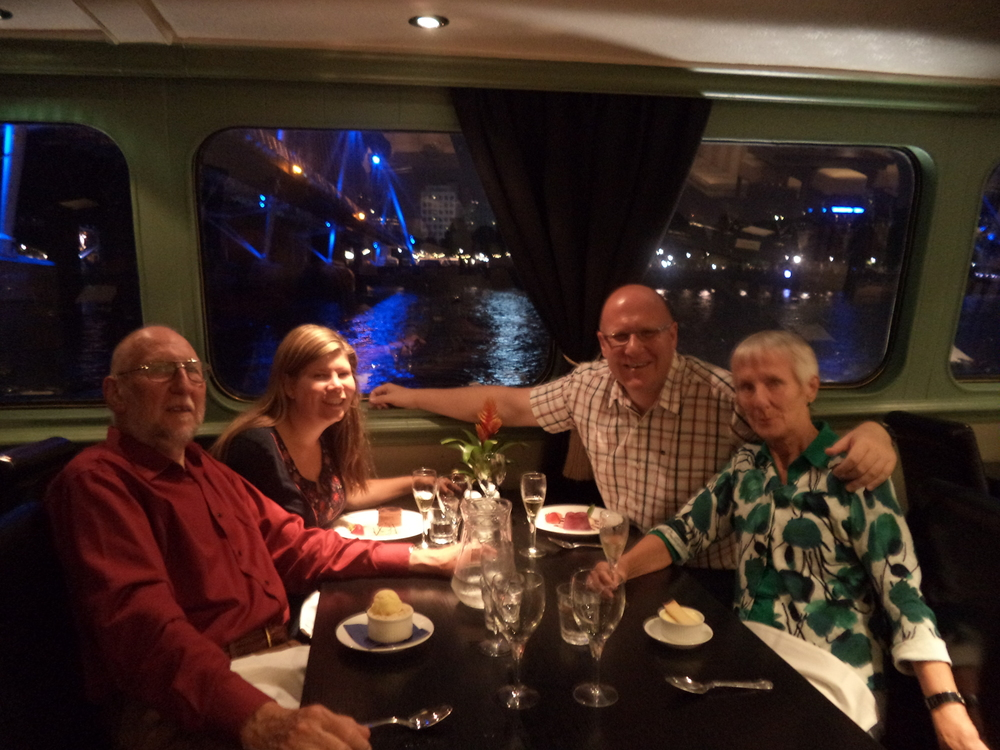 Dinner on the R.S. Hispaniola