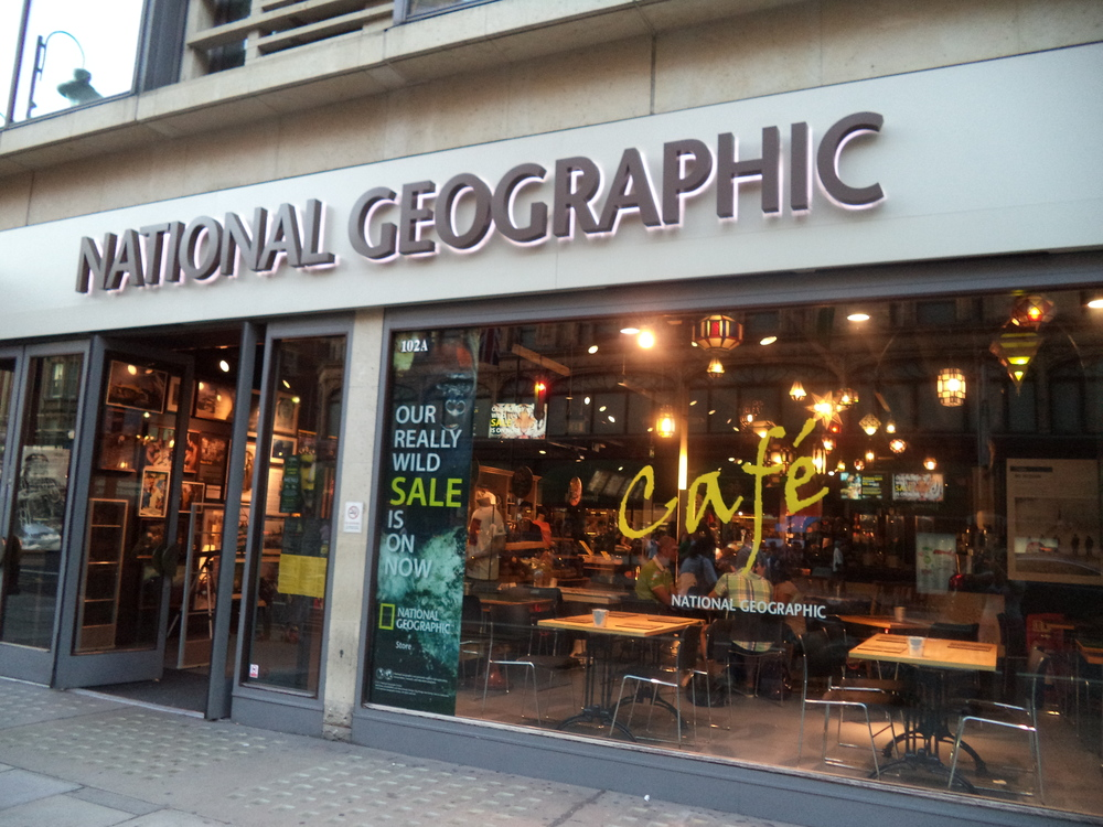 National Geographic Cafe, London