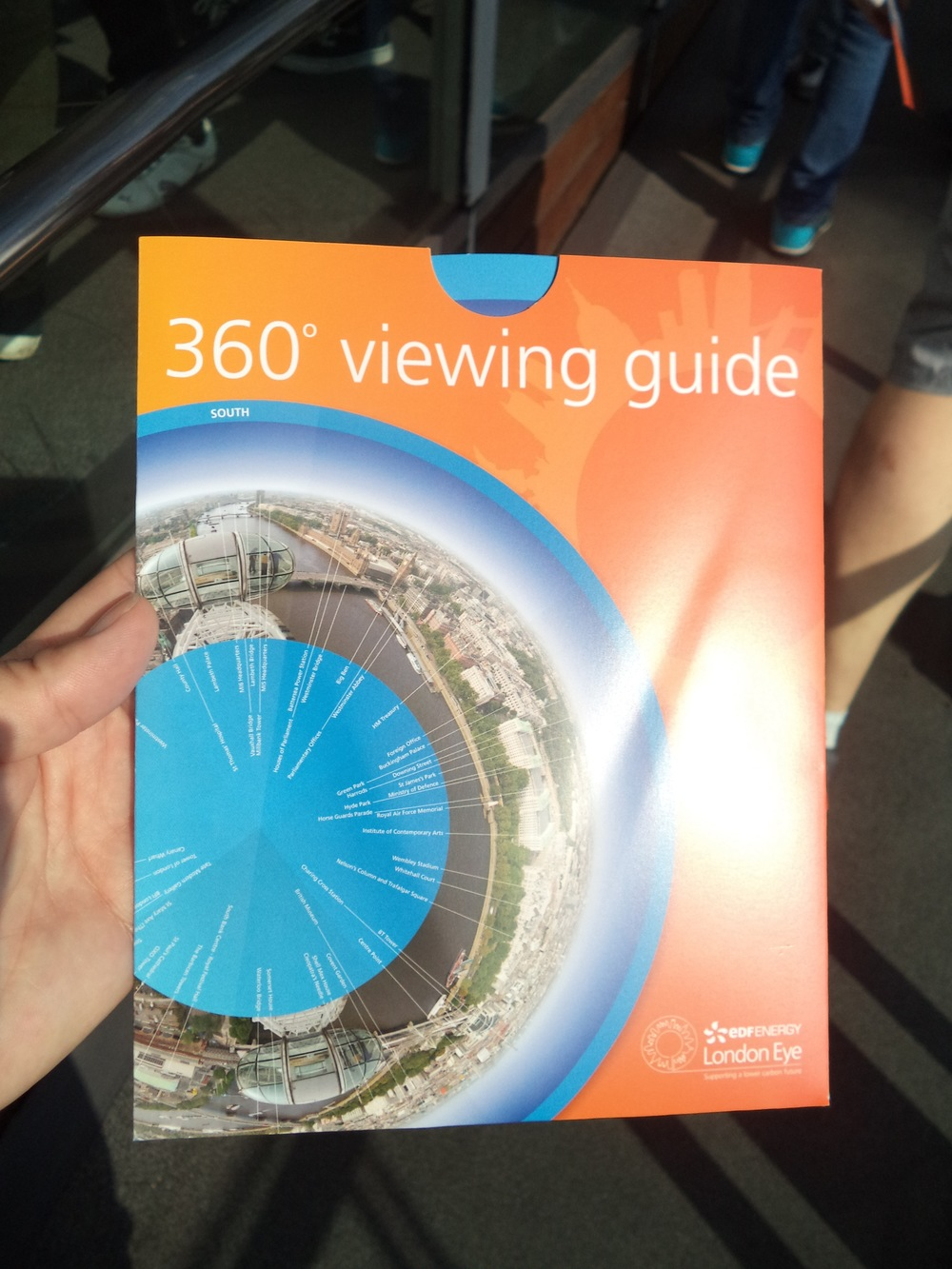 The viewing guide.