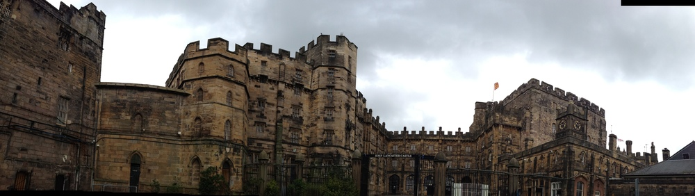 Lancaster Castle Panorama