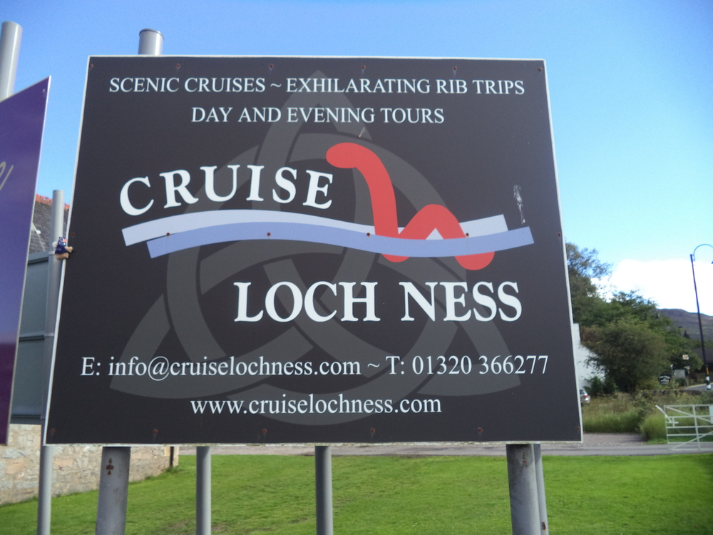 Departing from Fort Augustus.