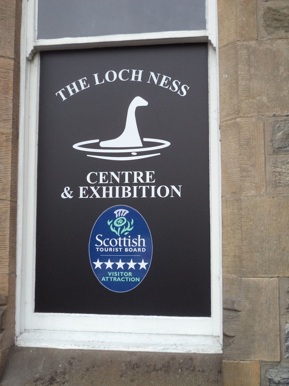 The Loch Ness Center and Exhibition.