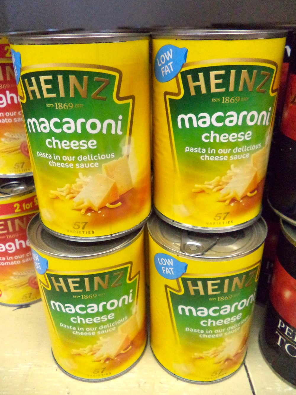 Canned Mac N' Cheese. Why not?