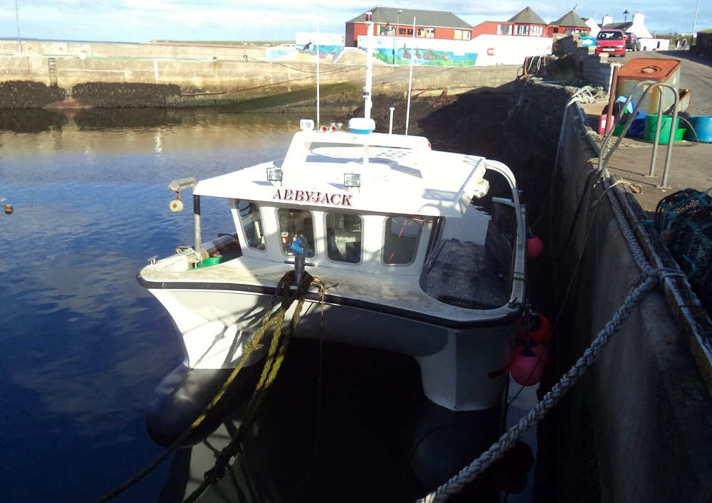 The AbbyJack fishing boat.