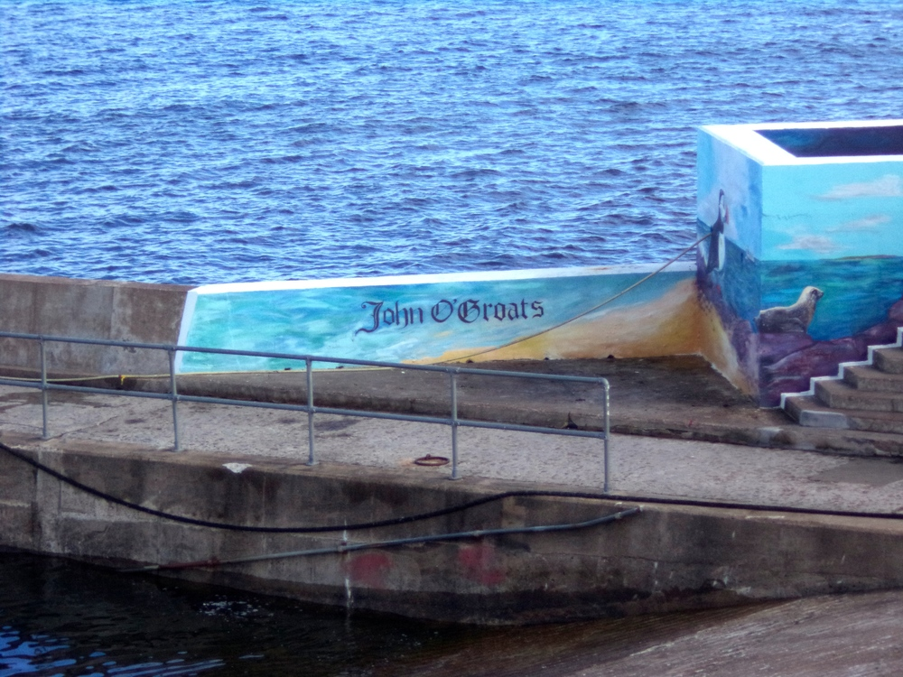 John O' Groats mural.