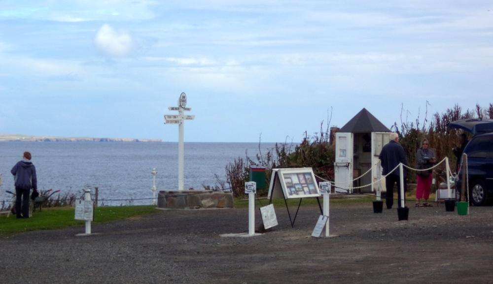 The John O'Groats Signpost.