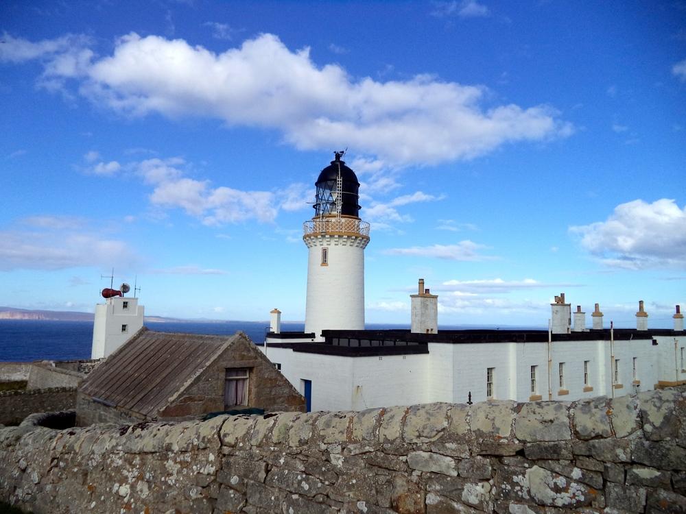 The Dunnet Head Lighthouse.