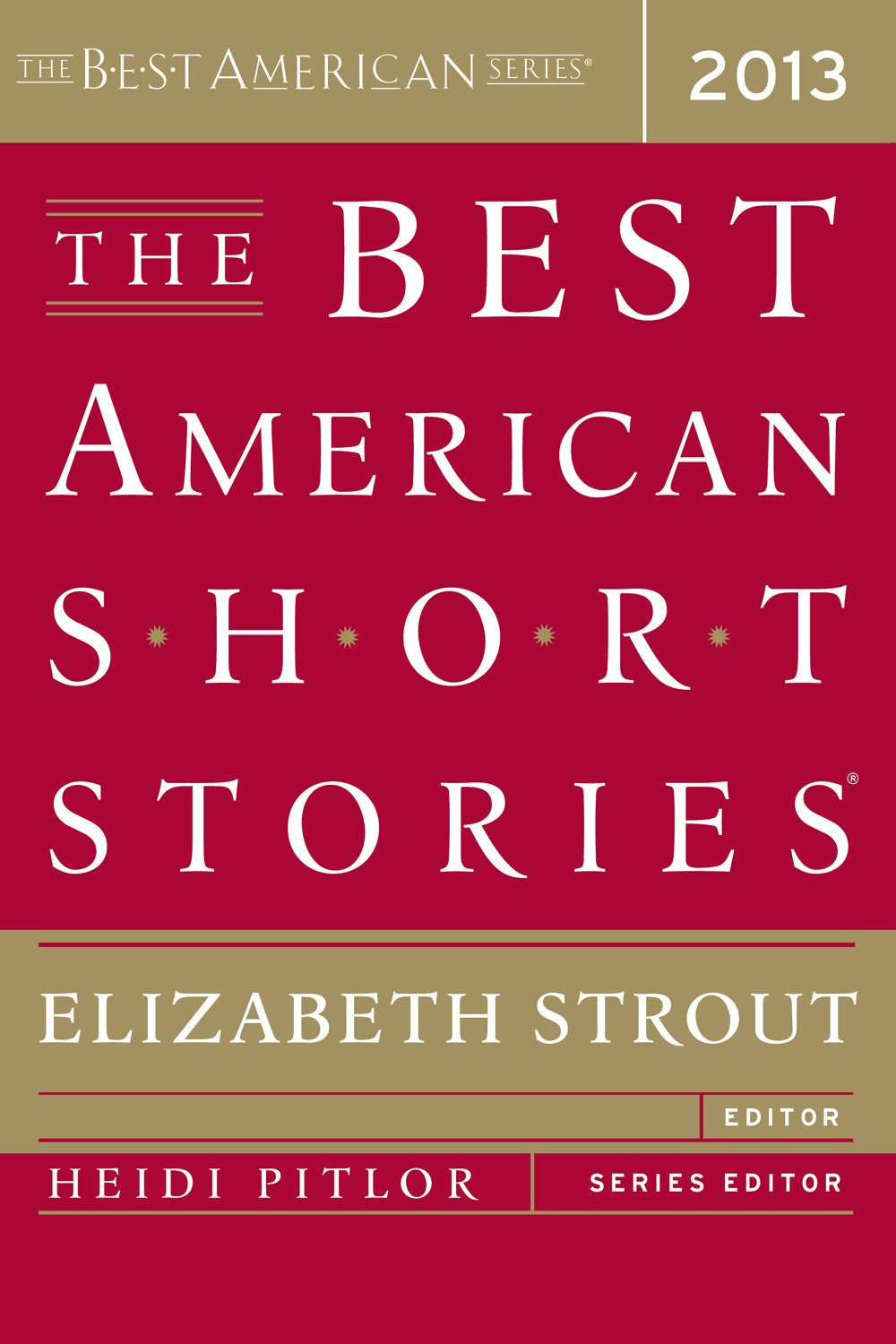 Book Review- The Best American Short Stories 2013