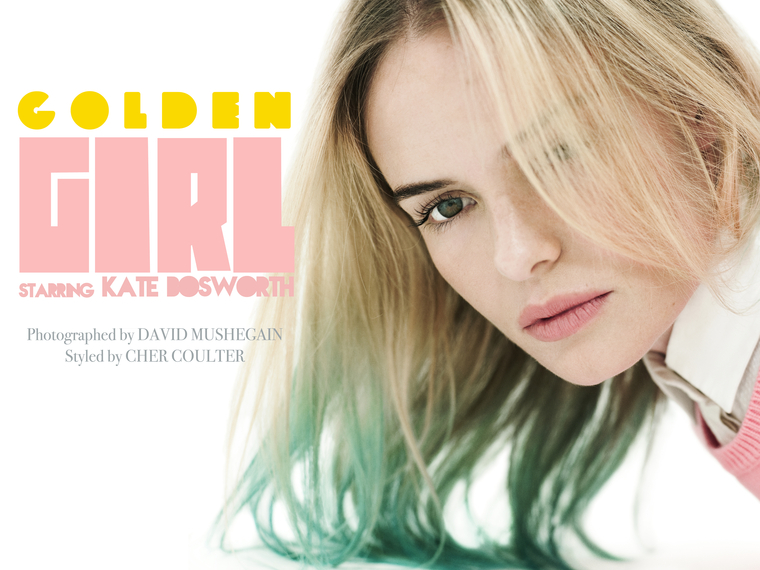 Golden Girl: An Editorial Staring Kate Bosworth