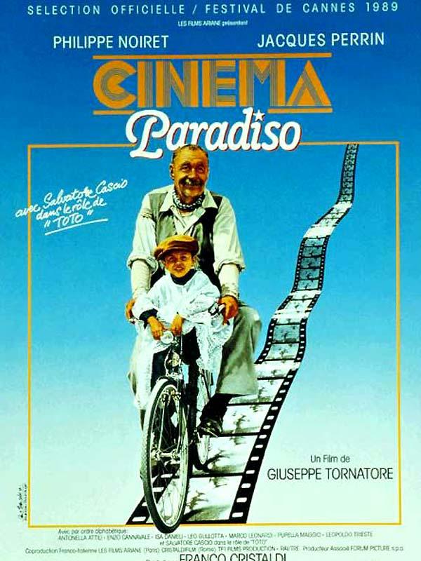 Cinema Paradiso            Guiseppe Tornatore: 1990