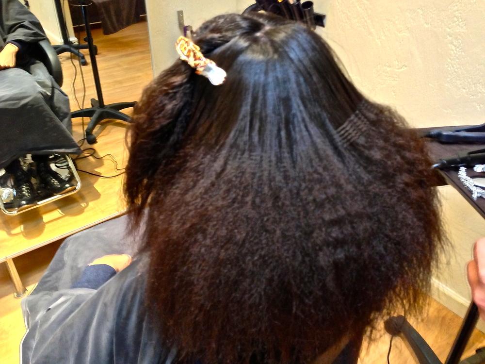 Hair in Progress