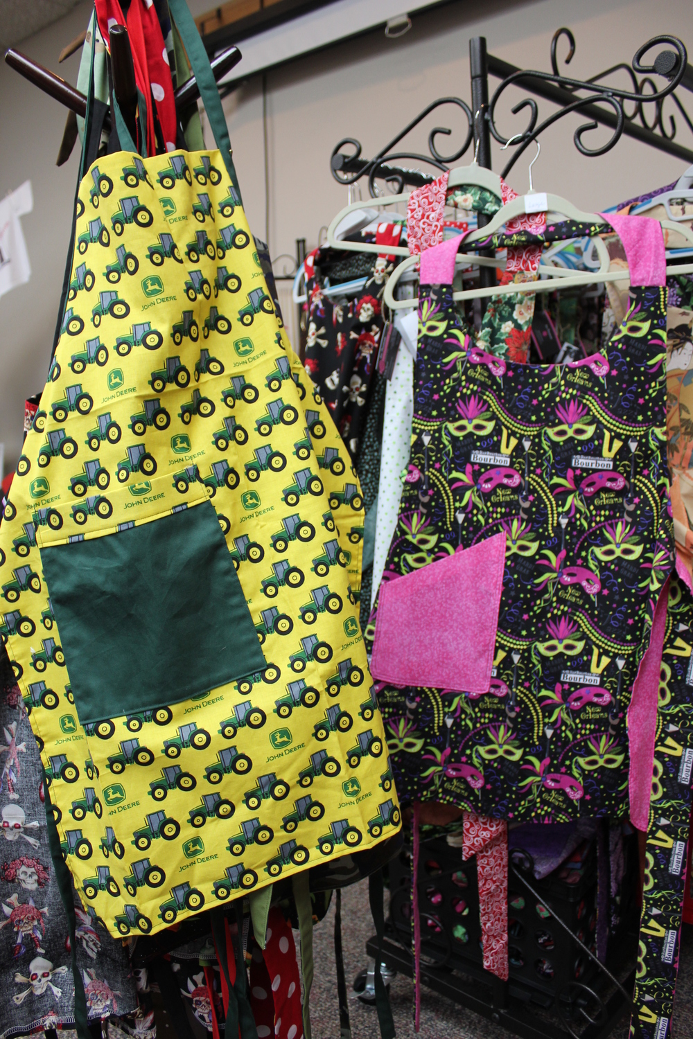 Handmade aprons from Sew Passionate.