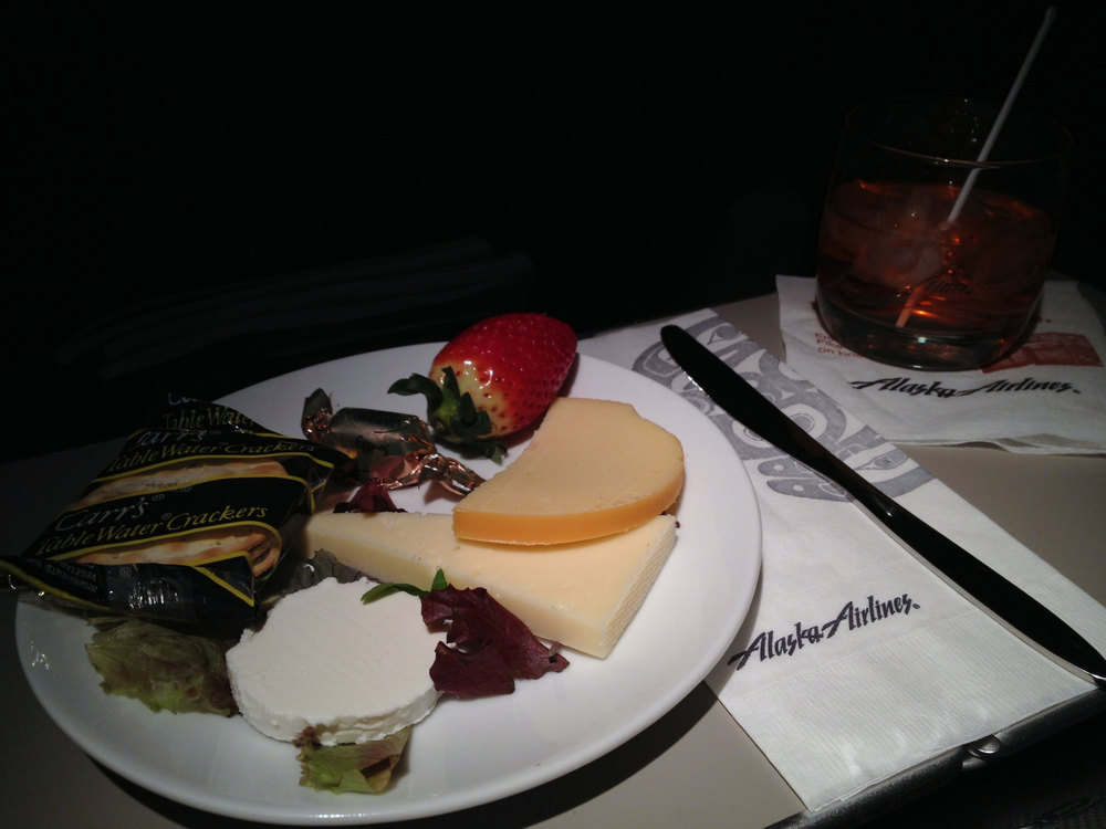 First class fruit plate.