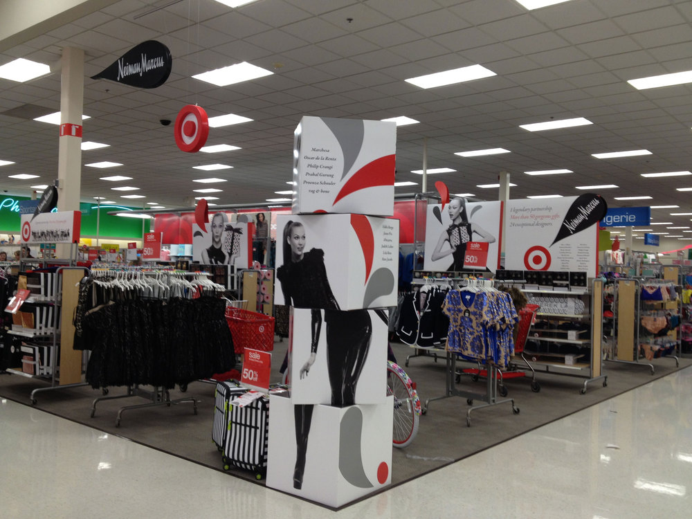 There isn't a  Target  store anywhere in Southeast Alaska.  Needless to say, I was beyond surprised to discover Target is collaborating with Neiman Marcus now!